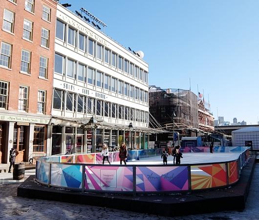 冬のサウス・ストリート・シーポート、初心者向けスケート・リンクあります_b0007805_2339562.jpg