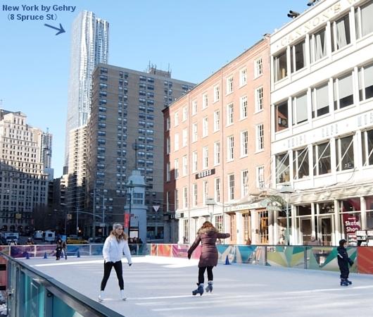 冬のサウス・ストリート・シーポート、初心者向けスケート・リンクあります_b0007805_23461454.jpg