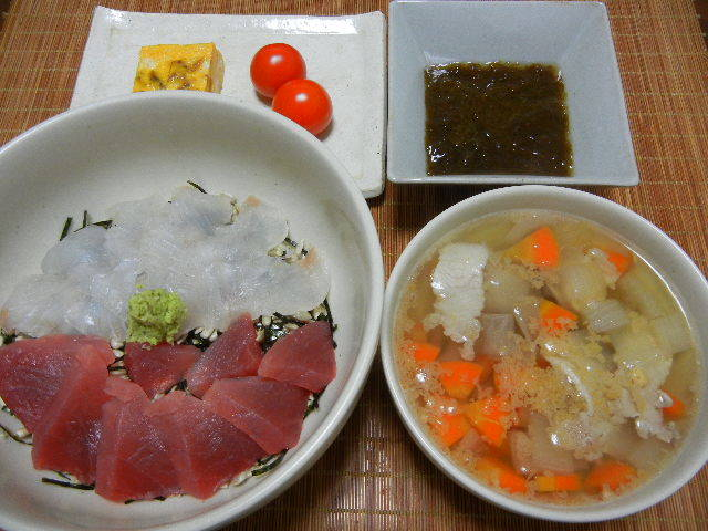 二色丼_e0028505_23364930.jpg