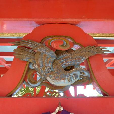 井の頭弁財天の装飾_b0074416_12324122.jpg