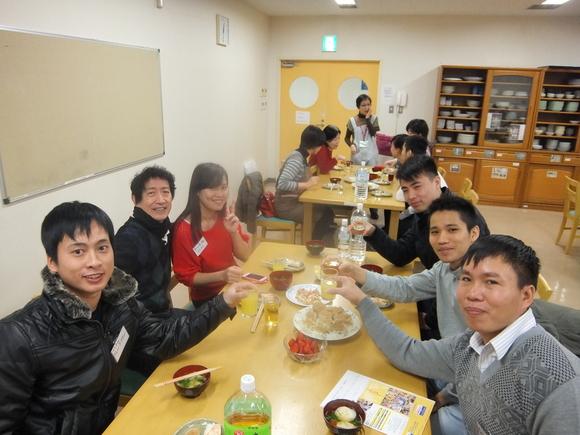 日曜朝教室 新年会_e0175020_20364470.jpg