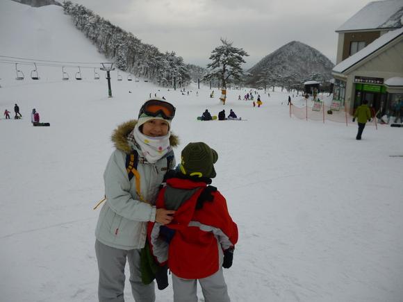 初スキー_b0215321_10165181.jpg