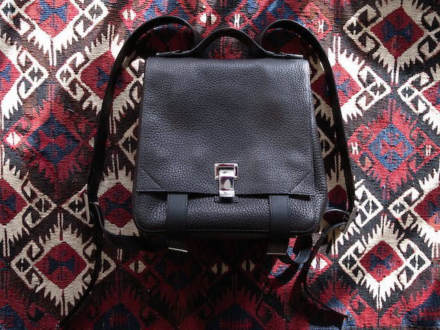 PROENZA SCHOULER PS COURIER BACKPACK SMALL BLACK 再入荷_f0111683_14530926.jpg