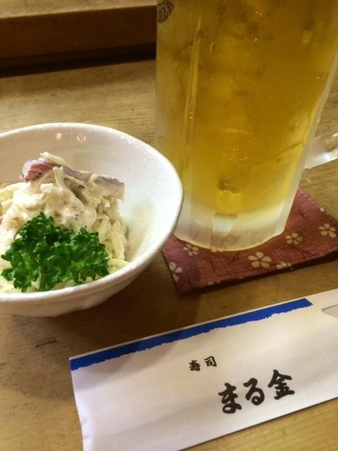 寿司 まる金 @弥生町_e0115904_04563457.jpg