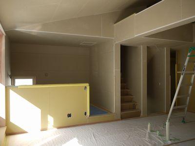 Y様邸 現場進捗状況。_b0131012_19543521.jpg