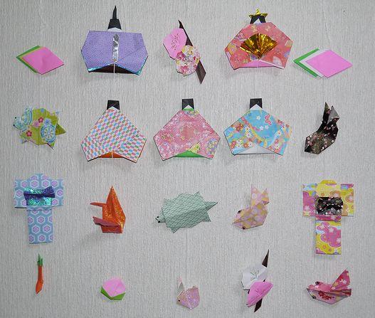 ハート 折り紙 つるし雛 折り紙 : cosmos1009.exblog.jp