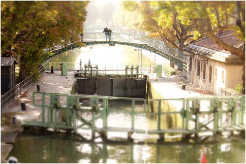 Canal Saint-Martin(サンマルタン運河)_d0101050_12261580.jpg