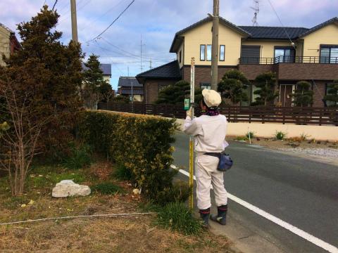 寺島 Iさんの家 ★地盤調査_d0205883_1183365.jpg