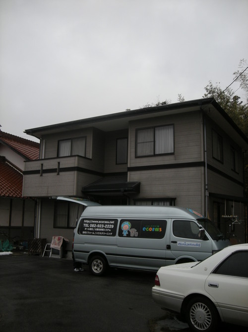 M様邸(東広島市)カーポート・土間工事_d0125228_8144999.jpg