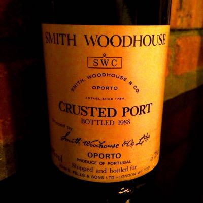 SMITH WOODHOUSE CRUSTED PORT BOTTLED1988_d0011635_21194975.jpg