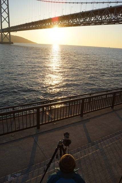 日本一の夕日瀬戸大橋と夕日、瀬戸の夕焼けの写真_d0181492_1234341.jpg