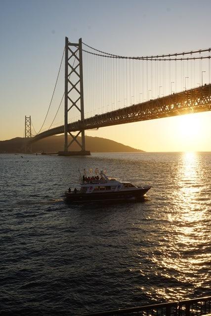 日本一の夕日瀬戸大橋と夕日、瀬戸の夕焼けの写真_d0181492_12344157.jpg