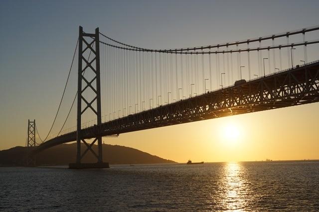 日本一の夕日瀬戸大橋と夕日、瀬戸の夕焼けの写真_d0181492_12345872.jpg