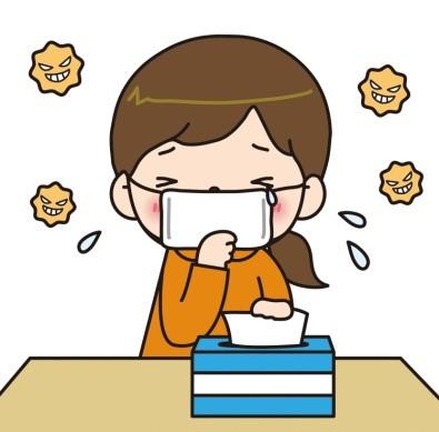 ーー鼻水止まらず!アレルギー性鼻炎~!ーーハハハーー。_d0060693_1940221.jpg
