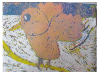 ほりすすみ版画に挑戦・小学生クラス(上高野)_f0211514_12291371.jpg