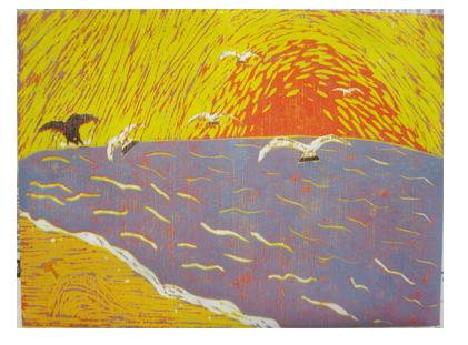ほりすすみ版画に挑戦・小学生クラス(上高野)_f0211514_1231521.jpg