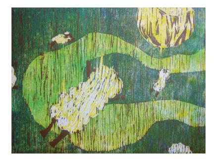ほりすすみ版画に挑戦・小学生クラス(上高野)_f0211514_1231696.jpg