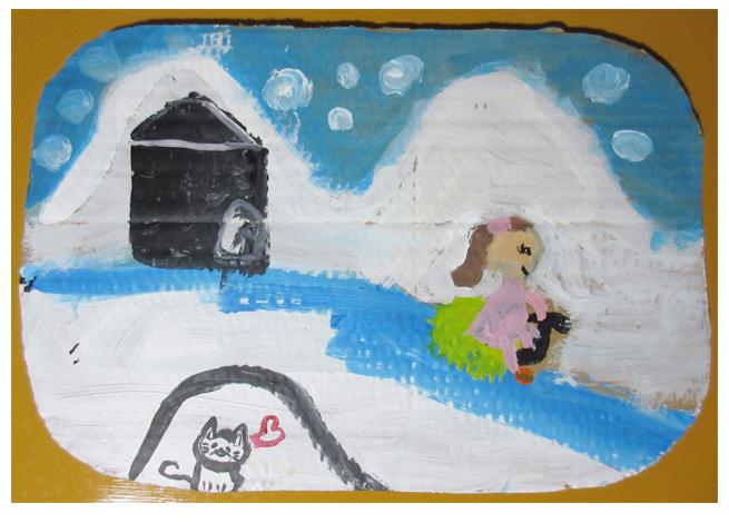 雪降りの日・小学生クラス(比良)_f0211514_1411089.jpg