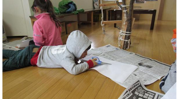 野菜スタンプの凧作り・幼児クラス(上高野)_f0211514_1955996.jpg