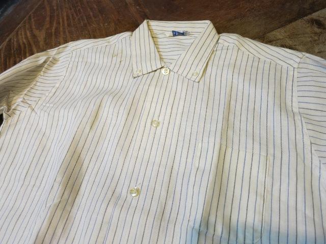 1/7(土)入荷!デッドストック ストライプB.Dシャツ!60'Sシャツ!2点!_c0144020_15302097.jpg
