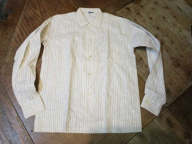 1/7(土)入荷!デッドストック ストライプB.Dシャツ!60'Sシャツ!2点!_c0144020_15302694.jpg