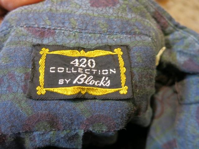 1/7(土)入荷!60'S バティックプリント プルオーバーB.Dシャツ!_c0144020_15324818.jpg