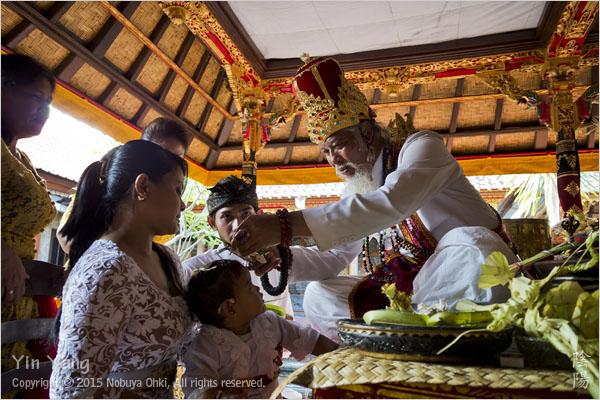 人生初の儀式、バリ島_e0139738_10384513.jpg