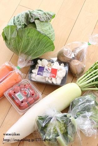 ムーミンのパジャマと届いた野菜_e0214646_21492195.jpg