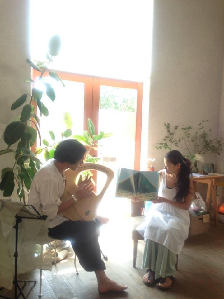 【残席3名様!】2/15(日)絵本とライアーコンサート@朝霞台 cafe uraraka_f0310448_23090107.jpg