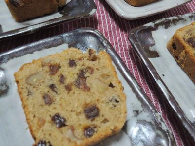 スコーンとパウンドケーキのレッスンをしました_b0252363_07380.jpg