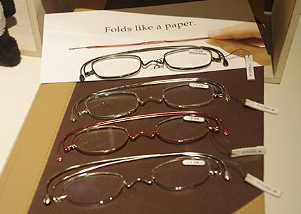 薄さ2mmの老眼鏡『ペーパーグラス』導入しました!!_e0267277_20024939.jpg