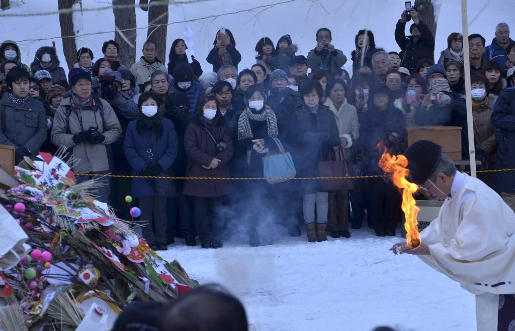 神宮 2020 焼き 北海道 どんど 北海道神宮の小神札焼納祭(どんと焼き) 日本国内/札幌特派員ブログ