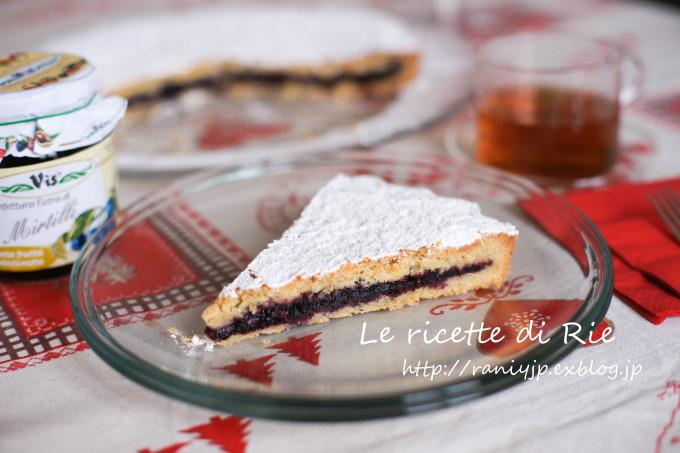 Torta di mirtilli di Bormio ♡ 北東イタリア, ボルミオのブルーベリーケーキ_b0246303_05390098.jpg