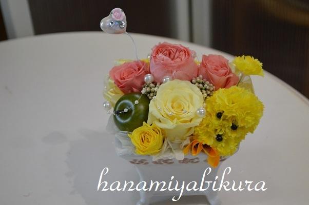 黄色のお花がお好きなかたの依頼作品_e0201009_20425349.jpg