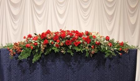 12月の婚礼 クリスマスイメージで。..。!!_d0227610_01015324.jpg