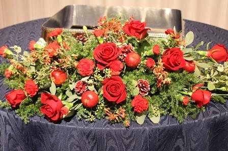 12月の婚礼 クリスマスイメージで。..。!!_d0227610_01335861.jpg