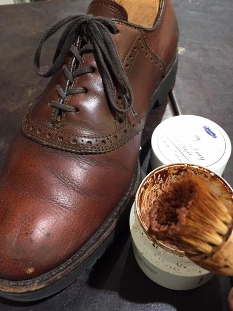 LLBeanの靴のお手入れ_b0226322_18372900.jpg