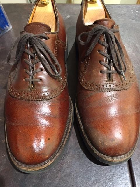 LLBeanの靴のお手入れ_b0226322_18380443.jpg