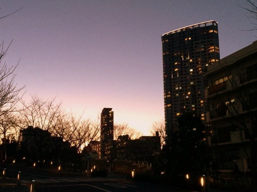 東京夕景_a0231828_17344333.jpg