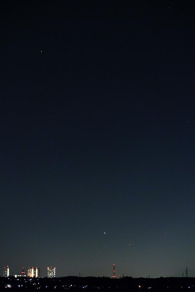 金星と水星と富士山(2015年1月17日)_e0089232_21075491.jpg