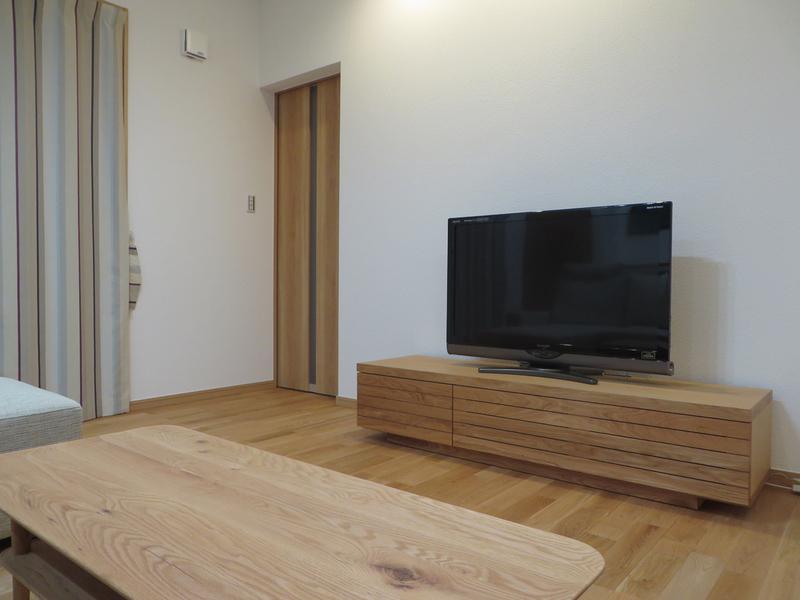 富山市S様邸家具とカーテンのトータルコーディネート。_d0224984_12493350.jpg