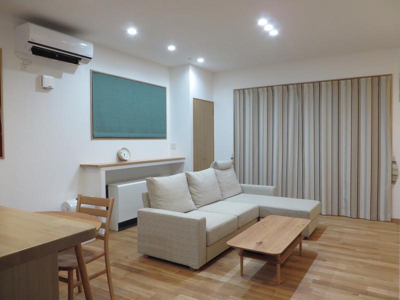 富山市S様邸家具とカーテンのトータルコーディネート。_d0224984_1314068.jpg