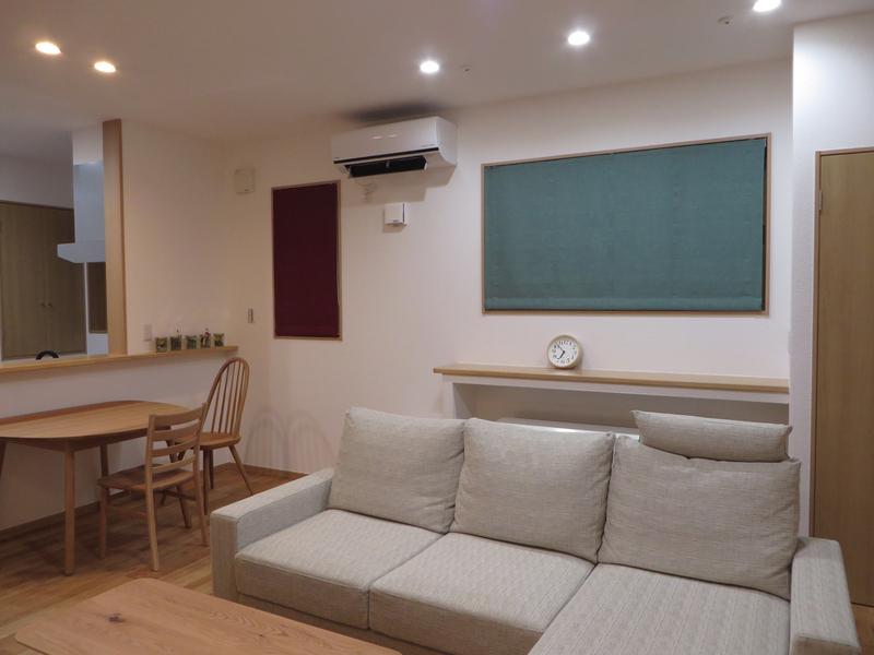 富山市S様邸家具とカーテンのトータルコーディネート。_d0224984_1321690.jpg