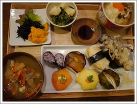お寿司ランチ(マガザンプラスさん)_b0142989_2355235.jpg