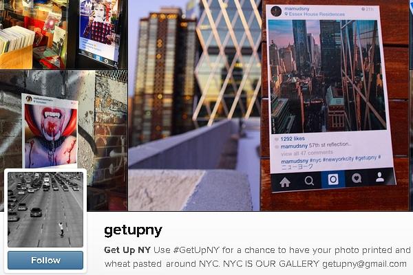 NYの写真&メッセージを紙に印刷して撮影現場に貼ってくる謎の集団、Get Up NY_b0007805_8414985.jpg