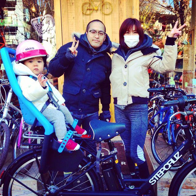 ステップクルーズ☆リピトの『バイシクルファミリー』Yepp ビッケ2e ハイディ bikke2 ママ 自転車 mama _b0212032_2185672.jpg