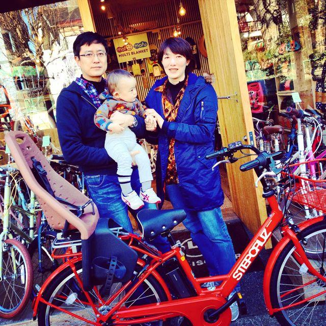 ステップクルーズ☆リピトの『バイシクルファミリー』Yepp ビッケ2e ハイディ bikke2 ママ 自転車 mama _b0212032_2191520.jpg