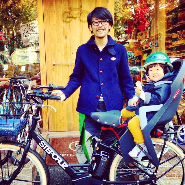 ステップクルーズ☆リピトの『バイシクルファミリー』Yepp ビッケ2e ハイディ bikke2 ママ 自転車 mama _b0212032_219163.jpg