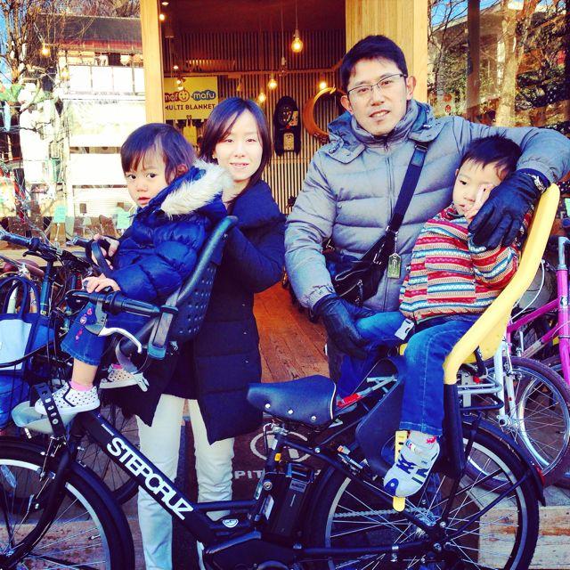 ステップクルーズ☆リピトの『バイシクルファミリー』Yepp ビッケ2e ハイディ bikke2 ママ 自転車 mama _b0212032_2191650.jpg