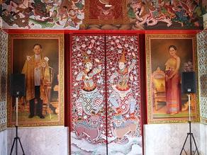 ヤムの会ミニトリップ、タイ寺院ワット・パクナム参拝とタイ料理クルワ・リム・ターン_c0030645_12301252.jpg